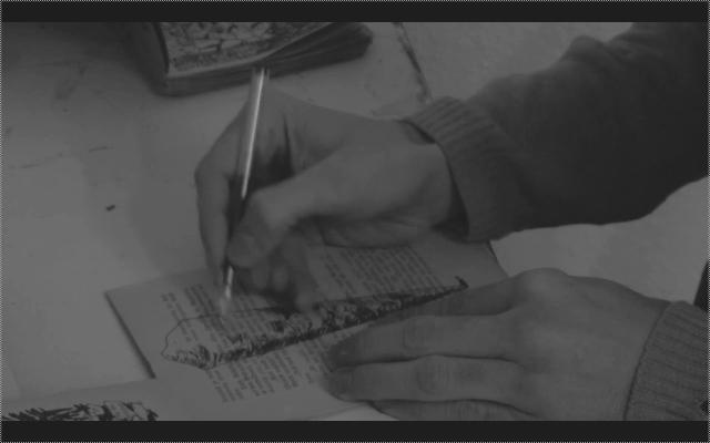 11.INVITE DU COMITE DE PAREIDOLIE : Gwendal Sarthe / Le Fils qui dessine (2013, Film Couleur et NB 32 mn, France) © Gwendal Sarthe 2013